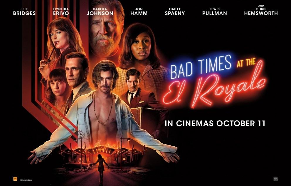 Bad Times At The El Royale Kinox.To