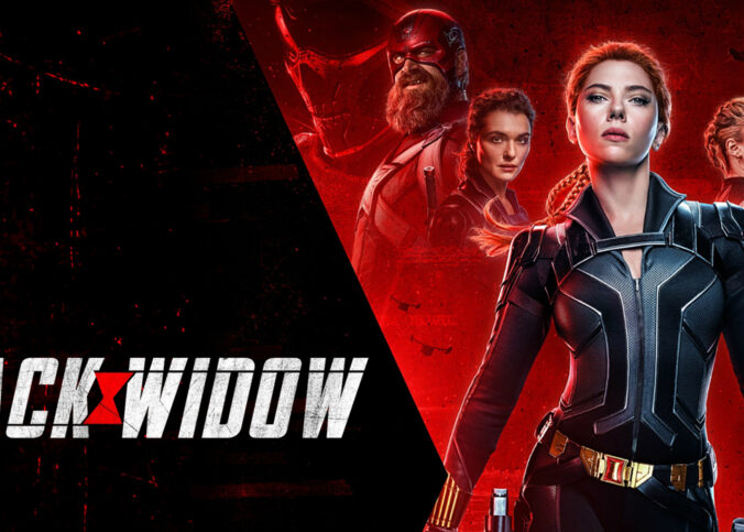Bannière Black Widow